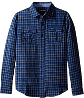True Religion Kids - Woven Plaid Workwear Shirt (Big Kids)