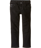 True Religion Kids - Rocco Moto Jeans in Smoke (Toddler/Little Kids)