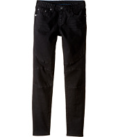 True Religion Kids - Rocco Moto Jeans in Smoke (Big Kids)