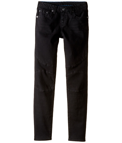 True Religion Kids Rocco Moto Jeans in Smoke (Big Kids)
