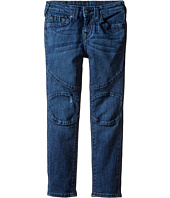 True Religion Kids - Rocco Moto Jeans in Roadster Blue (Toddler/Little Kids)
