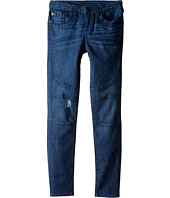 True Religion Kids - Rocco Moto Jeans in Roadster Blue (Big Kids)