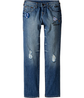 True Religion Kids - Geno Patchwork Jeans in Soft Blue (Big Kids)