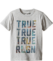 True Religion Kids - Cloudy TR Tee (Toddler/Little Kids)