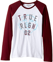 True Religion Kids - Buddha Long Sleeve Raglan (Big Kids)