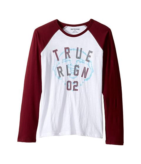 True Religion Kids Buddha Long Sleeve Raglan (Big Kids)