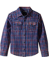 True Religion Kids - Indigo Western Shirt (Toddler/Little Kids)