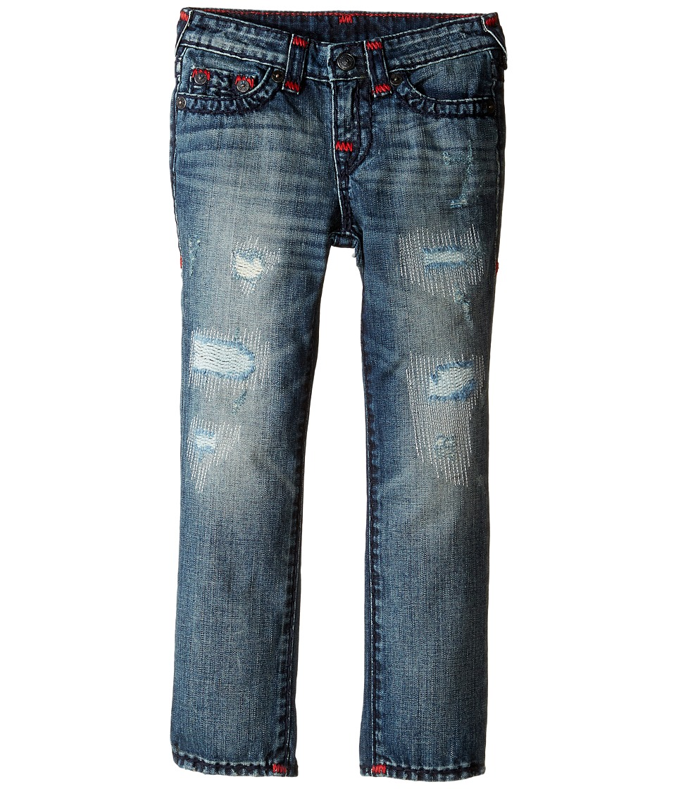 True Religion Kids - Geno Super T Jeans in Tarnished Wash