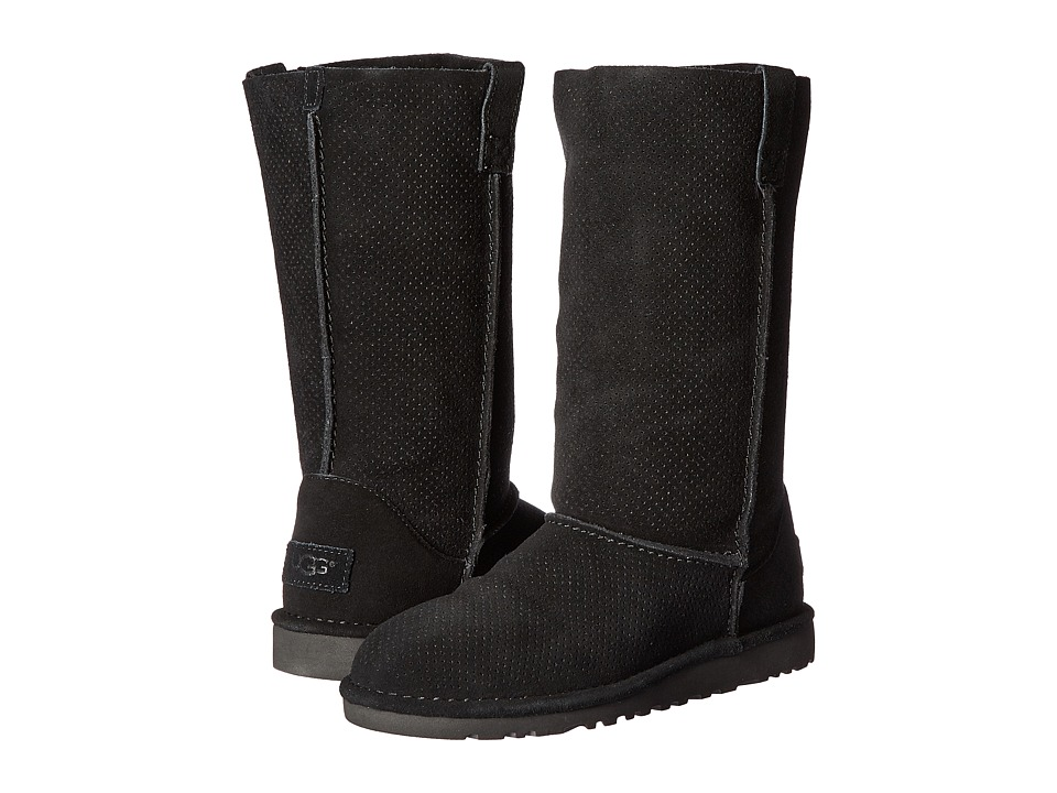 UGG Classic Unlined Tall Perf (Black) Women