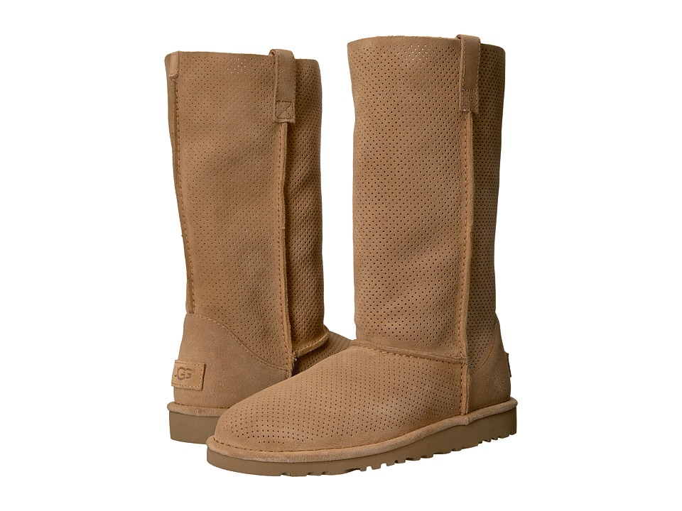UGG Classic Unlined Tall Perf (Tawny) Women