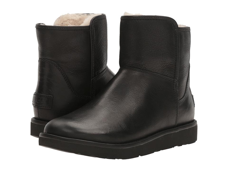UGG Abree Mini Leather (Nero) Women