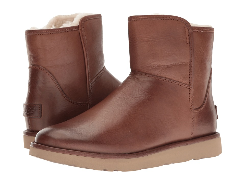 Ugg Abree Mini Leather (Bruno) Women's Boots
