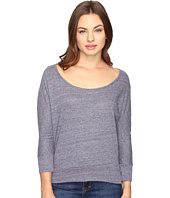 Alternative - Eco Nep Jersey Cabin Fever Dolman Top
