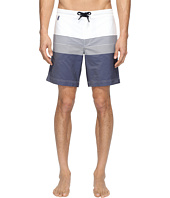Z Zegna - Striped Boardshorts