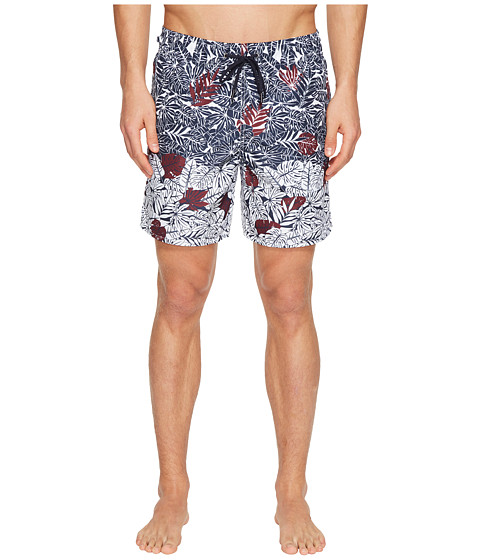 Z Zegna Palm Leaf Swim Trunks