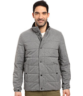 Nautica - Zip Front Brushed Herringbone Jacket