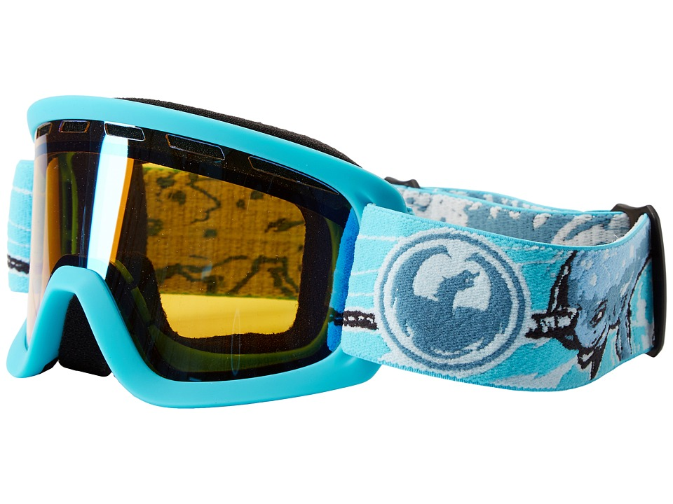 Dragon Alliance Lil D (Narwhale/Yellow Blue Ion) Goggles