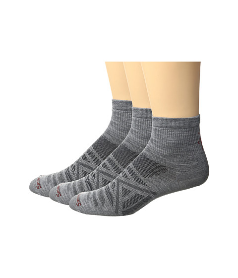 Smartwool PhD Outdoor Ultra Light Mini 3-Pack - Light Gray