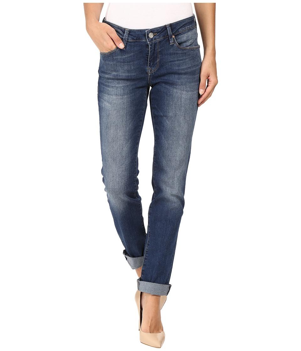 Mavi Jeans - Emma Slim Boyfriend in Deep Tribeca (Deep Tribeca) Women's Jeans plus size,  plus size fashion plus size appare