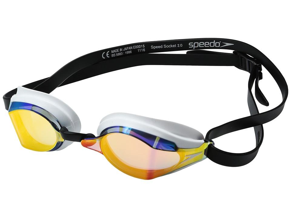 Speedo Speed Socket 2.0 Mirrored (Vapor) Water Goggles