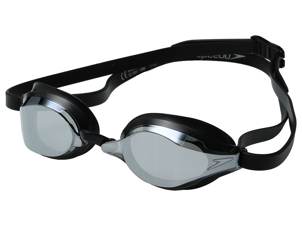 Speedo Speed Socket 2.0 Mirrored (Black/Silver) Water Gog...