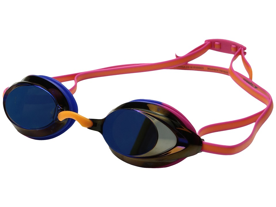 Speedo - Wms Vanquisher 2.0 Mirrored Goggle (Hot Coral) Water Goggles