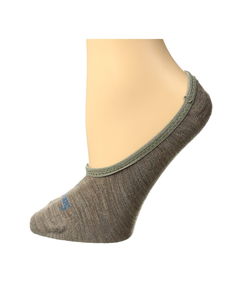 Smartwool - Hide and Seek 3-Pack (Fossil Heather) Womens No Show Socks Shoes