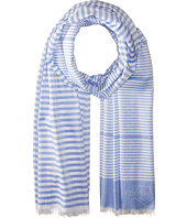 Z Zegna - Striped Scarf