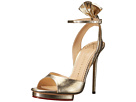 Charlotte Olympia - Wallace (Gold Lame)