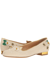 Charlotte Olympia - Floral Kitty Flats