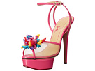 Charlotte Olympia - Pomeline (Barbie Pink Printed Cotton/Patent)