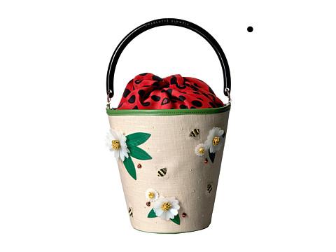 Charlotte Olympia Picnic Bucket Bag