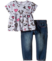 True Religion Kids - Lips and Stars Dress Set (Infant/Toddler)