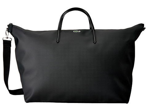 Lacoste L.12.12 Concept Travel Shopping Bag - Black