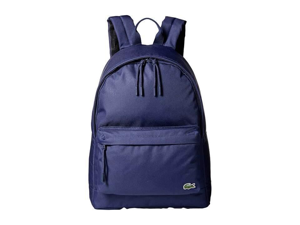 Lacoste Neocroc Backpack (Peacoat) Backpack Bags