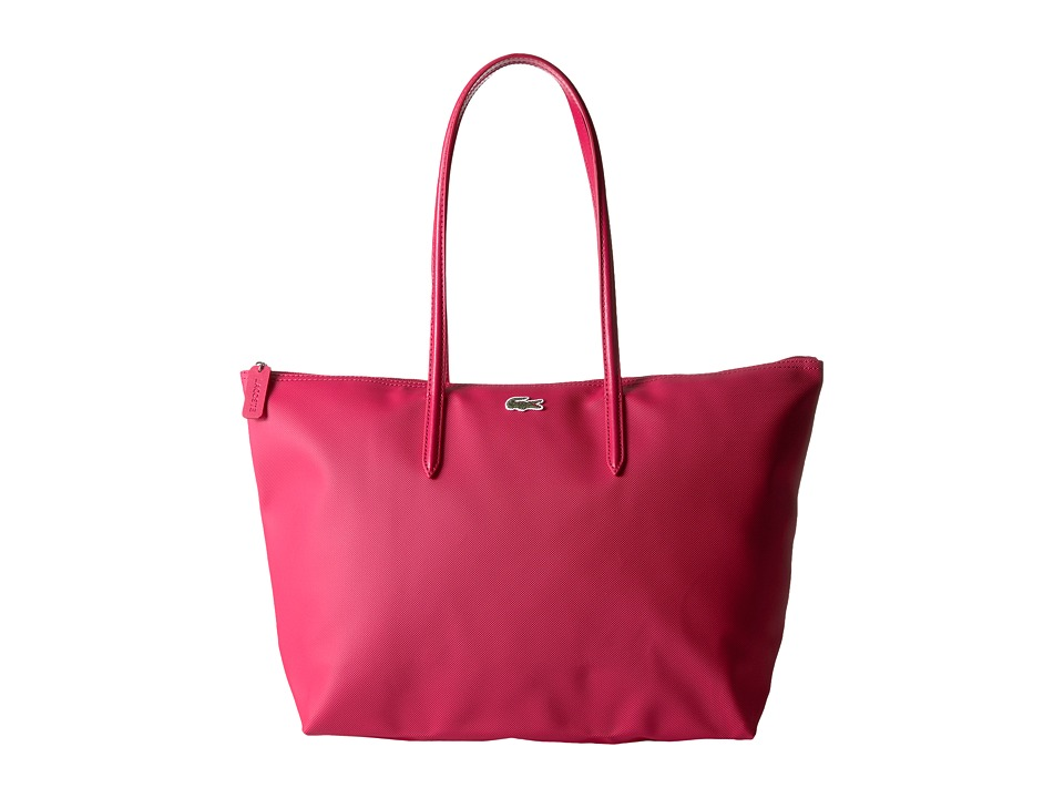 Lacoste L.12.12 Concept Large Shopping Bag (Virtual Pink ...