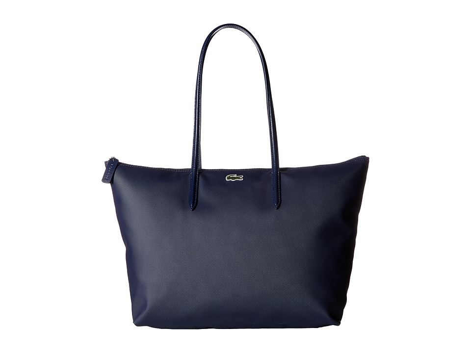 Lacoste L.12.12 Concept Large Shopping Bag (Eclipse) Tote...