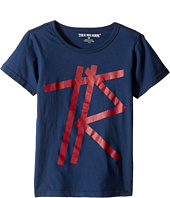 True Religion Kids - Tape T-Shirt (Toddler/Little Kids)