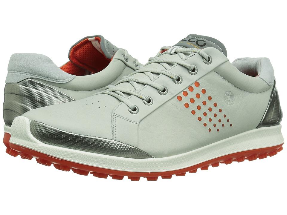 ECCO Golf BIOM Hybrid 2 (Concrete/Fire) Men