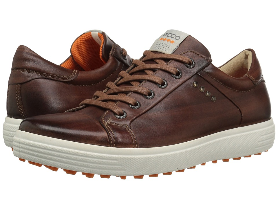 ECCO Golf Golf Casual Hybrid (Whiskey) Men