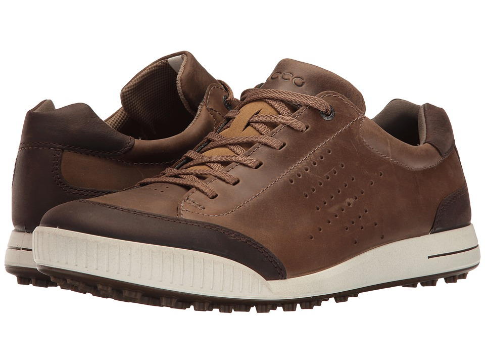 ECCO Golf Street Retro HydroMax (Birch/Coffee) Men