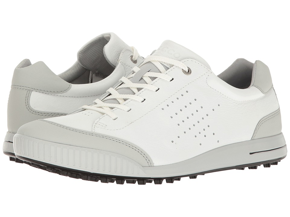 ECCO Golf Street Retro HydroMax (White/Concrete) Men