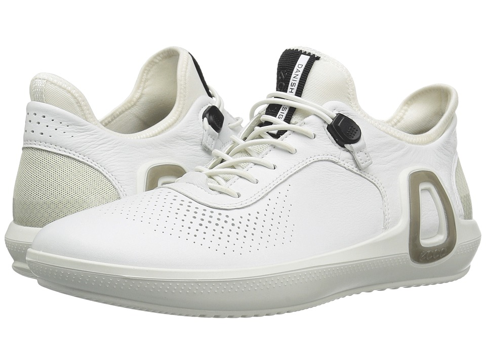 ECCO Sport Intrinsic 3 Leather (White) Men