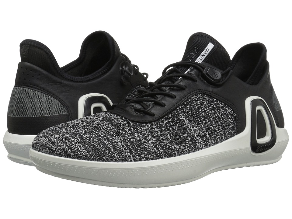 ECCO Sport Intrinsic 3 Textile (Black Concrete/Black) Men