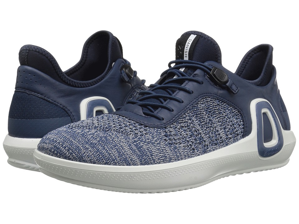 ECCO Sport Intrinsic 3 Textile (True Navy Concrete/True Navy) Men