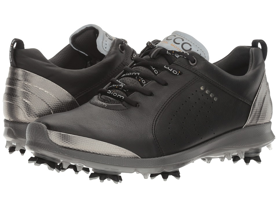 ECCO Golf BIOM G 2 Free (Black/Buffed Silver) Women's Golf Shoes