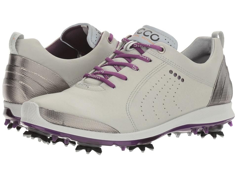 ECCO Golf BIOM G 2 Free (Concrete/Imperial Purple) Women