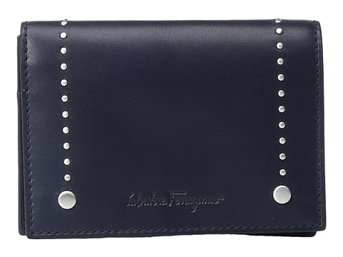 Salvatore Ferragamo Trotter 2.0 Card Case - 660786