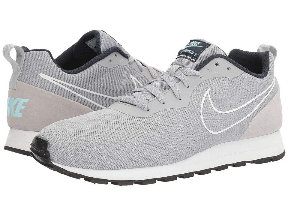 Nike - MD Runner 2 BR (Wolf Grey/Wolf Grey/Armory Navy) Men's  Shoes
