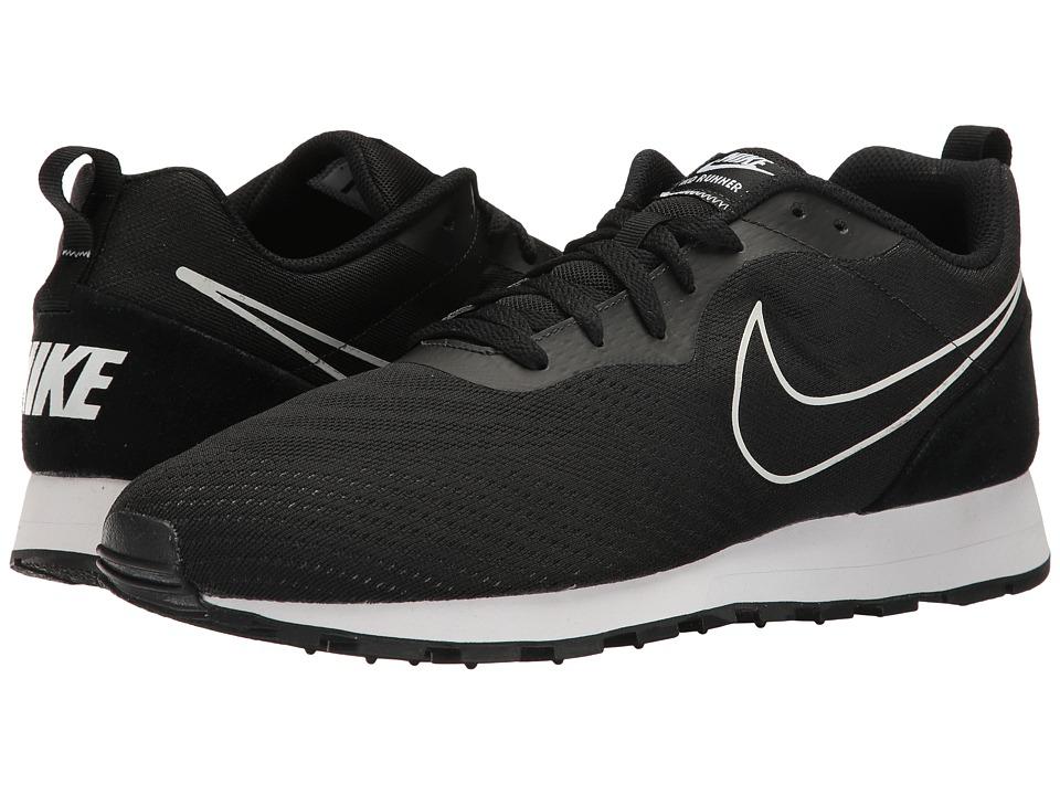 Nike - MD Runner 2 BR (Black/Black) Men's  Shoes